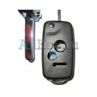 Honda корпус выкидного ключа, 2 кнопки+panic