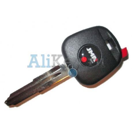 Toyota заготовка ключа под чип, JMA