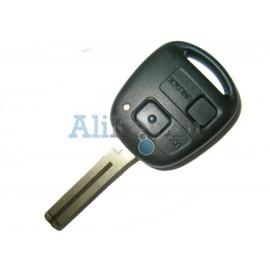 Toyota ключ с дистанционным управлением, 2 кнопки с чипом 4D-67, лезвие TOY 48. Модель LAND CRUISER