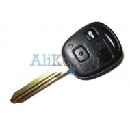 Toyota ключ с дистанционным управлением, 3 кнопки c чипом 4С, лезвие TOY 43