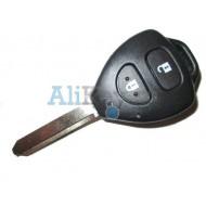 Toyota ключ VALEO с дистанционным управлением, 2 кнопки с чипом 4D 80bit, лезвие TOY 47