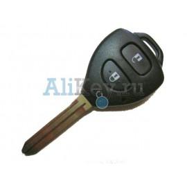 Toyota ключ с дистанционным управлением 2 кнопки с чипом 4D-67.
