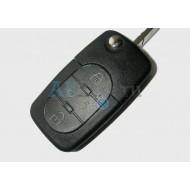 Volkswagen выкидной ключ с дистанционным управлением 3 кнопки ( для моделей VW 1998 - 2000г.в. №: 1JO 959 753 B)