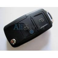 Volkswagen выкидной ключ с дистанционным управлением 2 кнопки ( для автомобилей из Европы с мая 2001 - 2005 г.в.)
