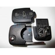 Volkswagen корпус выкидного ключа с дистанционным управлением (3 кнопки)