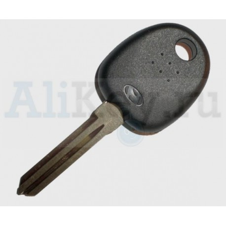 Hyudai заготовка ключа с чипом (чип 46).