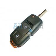 Skoda корпус выкидного ключа с 2 кнопками