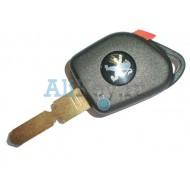 Peugeot заготовка ключа зажигания с местом под чип