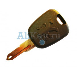 Peugeot заготовка ключа зажигания с 45 чипом