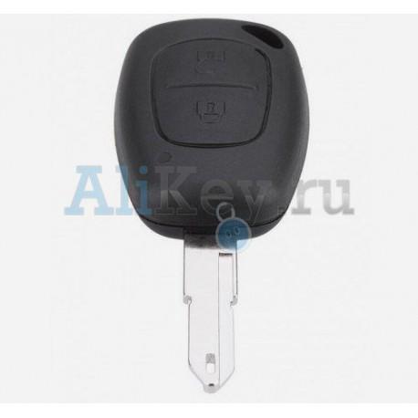 Renault корпус ключа 2 кнопки