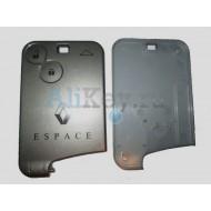 Renault Espace корпус смарт карты 2 кнопки.
