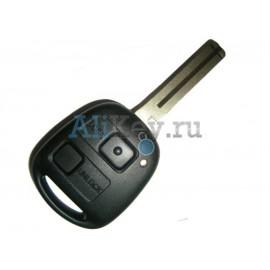 Lexus ключ зажигания с дистанционным управлением, 2 кнопки, чип 4С