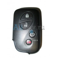 Lexus smart ключ зажигания, 4 кнопки