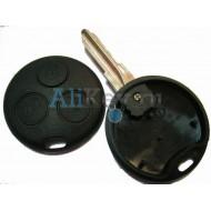 Mercedes SMART корпус дистанционного ключа зажигания, 3 кнопки