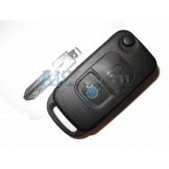Mercedes корпус выкидного ключа зажигания, 2 кнопка