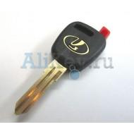 Лада ключ зажигания с местом под чип (колба)