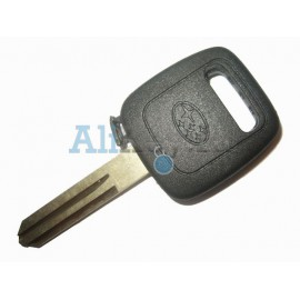 Subaru заготовка ключа зажигания с местом под чип