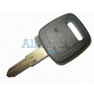 Subaru заготовка ключа зажигания с чипом 4D-62