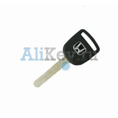 Acura заготовка ключа зажигания с местом под чип (логотип Honda)