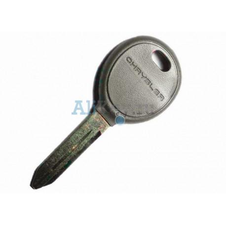Chrysler заготовка ключа зажигания с местом под чип