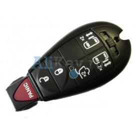 Chrysler smart ключ зажигания, 5 кнопок+panic