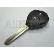 Корпус дистанционного ключа Тойота (2 кнопки).