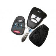 Chrysler корпус дистанционного ключа зажигания