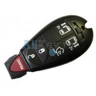 Dodge smart ключ зажигания, 5 кнопок+panic