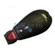 Dodge smart ключ зажигания, 2 кнопки+panic