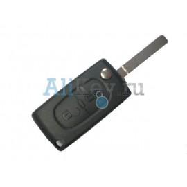 Citroen корпус ключа зажигания 2 кнопки