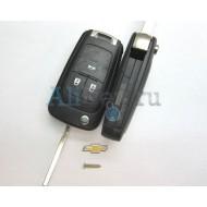 Chevrolet корпус выкидного ключа зажигания 3 кнопки.