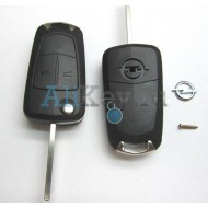 Корпус выкидного ключа 2 кнопки Opel