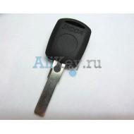 Skoda заготовка ключа зажигания с местом под чип