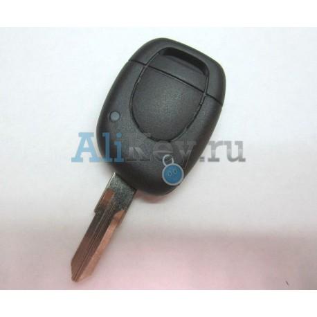 RENAULT ключ зажигания 1 кнопка