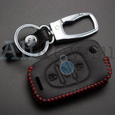 Чехол кожаный для ключа Киа