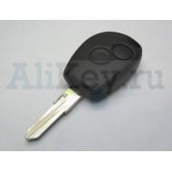 Корпус ключа 2 кнопки для Renault