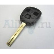 ТОЙОТА корпус дистанционного ключа 3 кнопки, лезвие 48