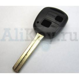 ТОЙОТА корпус дистанционного ключа 2 кнопки, лезвие TOY 48