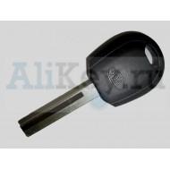 Kia Rio заготовка ключа с местом для ус тановки чипа