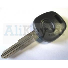 Chevrolet заготовка ключа с местом под чип