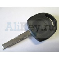 Шевроле заготовка ключа с местом под чип.