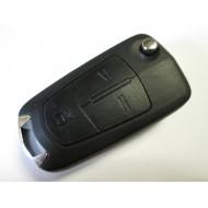 Шевроле выкидной ключ с дистанционным управлением 3 кнопки для модели CAPTIVA