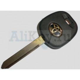 ТОЙОТА заготовка ключа с чипом 4D-70