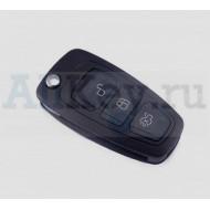 Ford корпус выкидного ключа 3 кнопки для Focus 3, Mondeo.