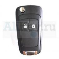 Chevrolet корпус выкидного ключа 2 кнопки.