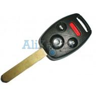 Honda ключ с дистанционным управлением, 3 кнопки+panic с 48 чипом