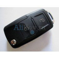 Volkswagen выкидной ключ с дистанционным управлением 2 кнопки (для автомобилей из Европы до мая 2001г. №: 1JO 959 753 A,N )
