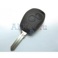 Nissan ключ зажигания для модели Almera с дистанционным управлением 2 кнопки