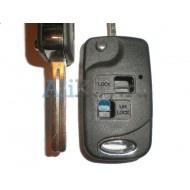 Lexus корпус выкидного ключа зажигания, 2 кнопки