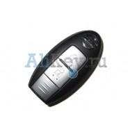 Infiniti smart ключ зажигания, 2 кнопки, логотип Nissan